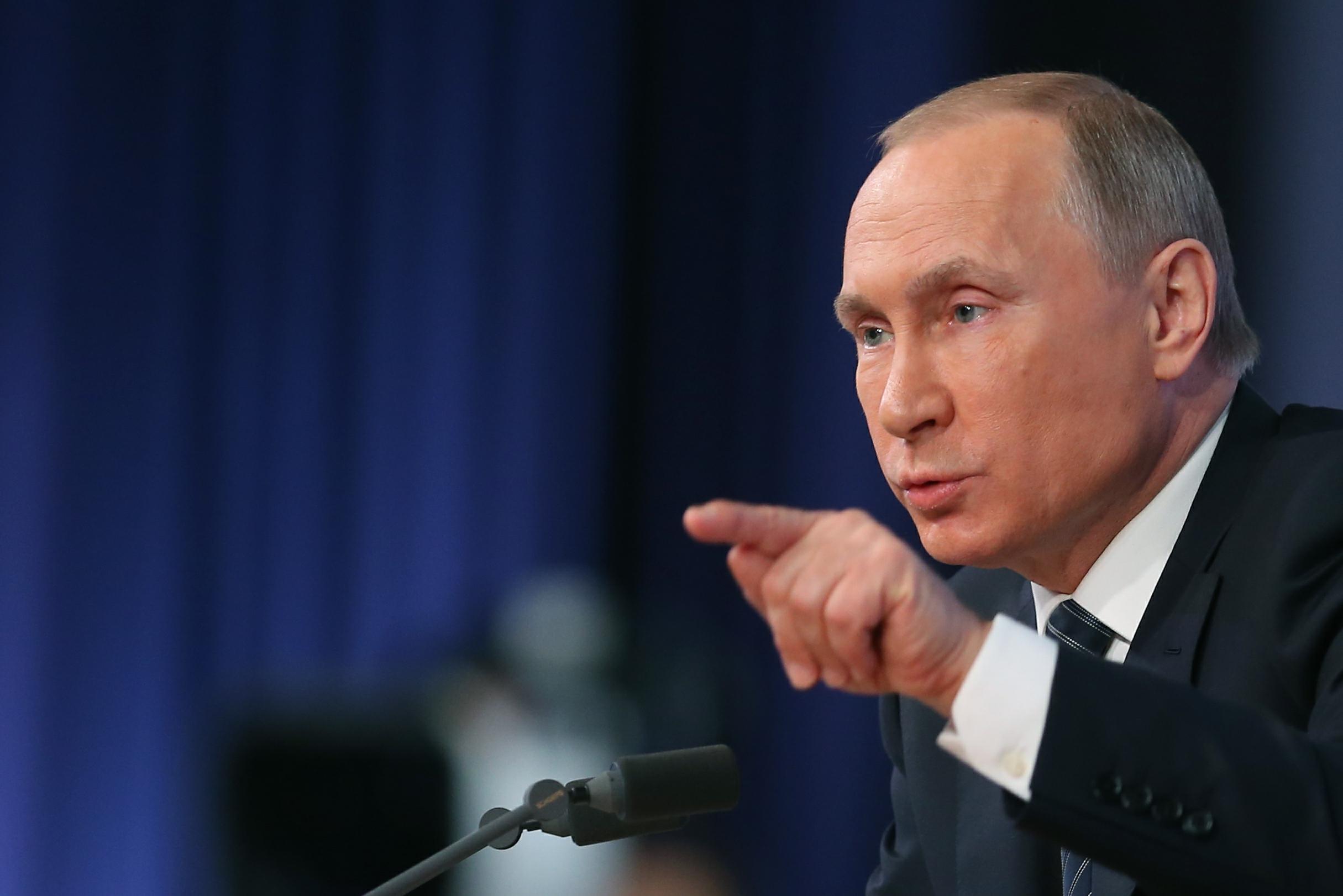 Путин обвинил Киев в дискриминации русских на Украине