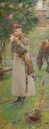 ЦАРСКИЕ ПОГОНЫ (№1 из Триптиха «Русский век») худ. П.В. Рыженко