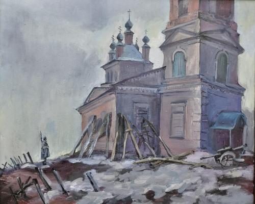 МОЛИТВА О ПОБЕДЕ худ. О.Д. Севастьянова