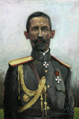 ГЕНЕРАЛ КОРНИЛОВ ЛАВР ГЕОРГИЕВИЧ худ. С.Л. Масалыгин