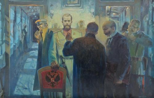 СТАНЦИЯ «ДНО» худ. В.С. Поляков