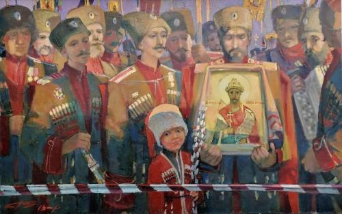 ВОЗВРАЩЕНИЕ худ. В.С. Поляков