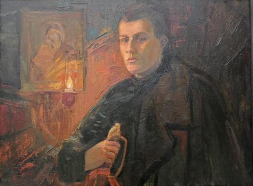 ДОНСКОЙ КАЗАК, ПОЭТ ТУРОВЕРОВ Н.Н. худ. О.А. Семченко