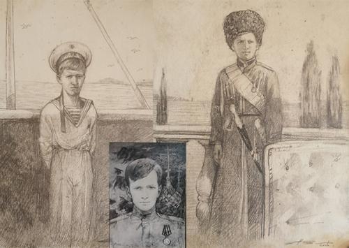 Цесаревич Алексей худ. В.С.Поляков